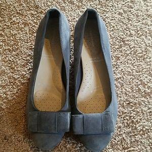 Sued heels